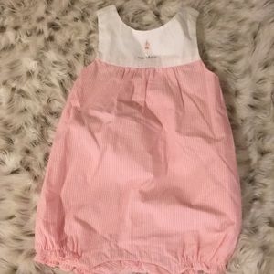 Janie and Jack baby girl sleeveless outfit NWT!